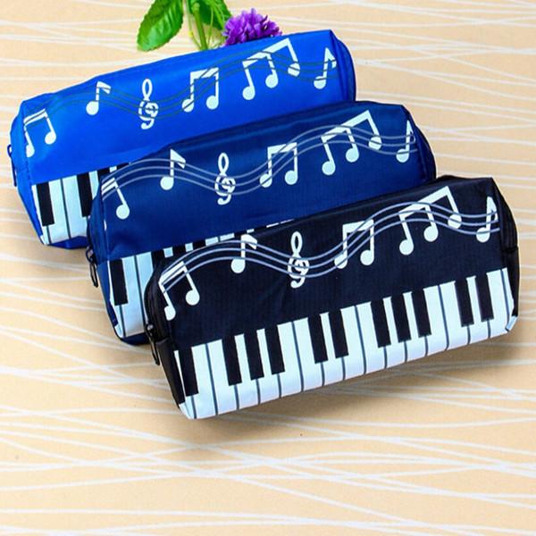 2019 корейская версия музыкальная фортепианная клавиатура сумка для хранения канцелярские косметичка музыкальная ручка сумки коробка для хранения школьные принадлежности