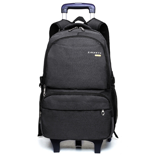 6 Wheels Primary School Travel Trolley Bag Fashion Large capacity Children Backpack With Trolley Boys Schoolbag Child With Wheel