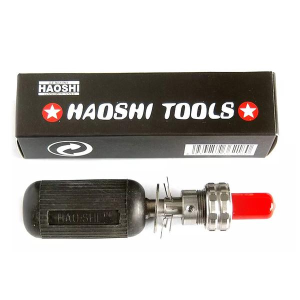 Brand New in Box HAOSHI Tubular Lock Plug 10 Pins Opening and Decoding Locksmith Lock Pick Tool Sets Free Shipping