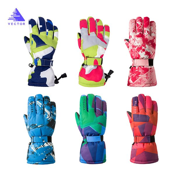 san francisco super popular for whole family 2019 Kids Ski Gloves Snowboard Gloves Motorcycle Riding Winter Children'S  Ski Windproof Waterproof Girls Boys Snow From Mssweet, $26.2 | DHgate.Com