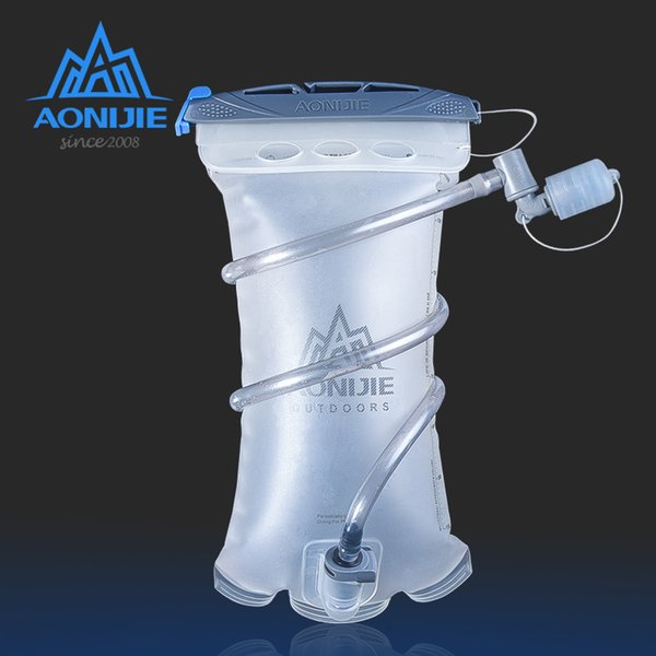 best selling AONIJIE Hydration Pack Water Bag TPU BPA Free For Running Hydration Vest Backpack Soft Reservoir 1.5L Water Bladder