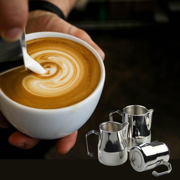 Café Cruche vintage pot acier inoxydable 350 ml moussant pour Lait Creamer Pour Latte