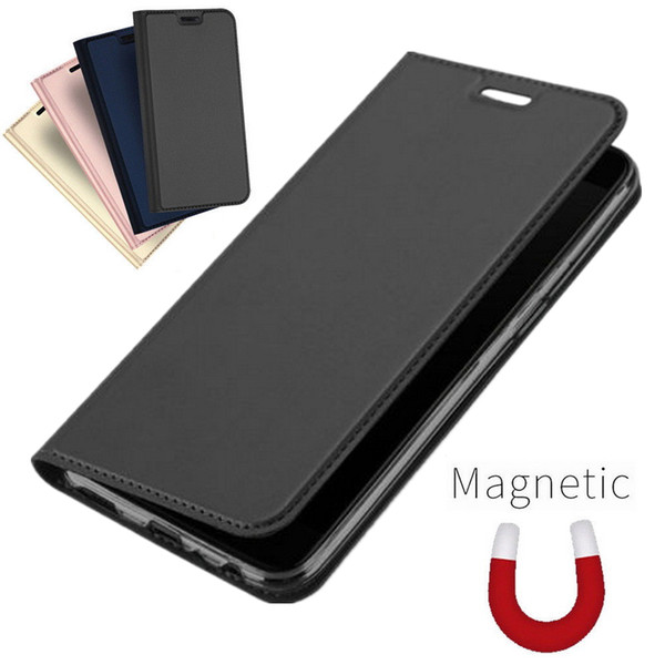 detailed look 7bfab 6b268 Luxury Leather Case For Oneplus 7 Pro Flip Shockproof Wallet Phone Cover On  One Plus 6 6T 5T Slim Magnetic Coque Folio Capa Ballistic Cell Phone Case  ...