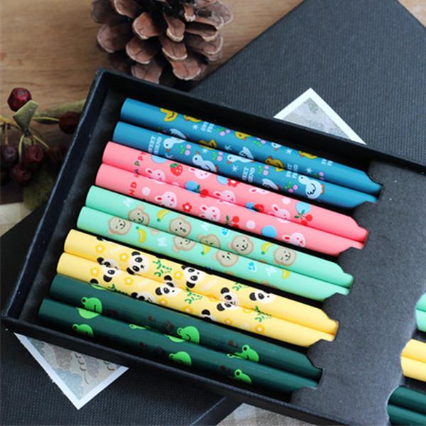 5 Pairs Japanese Chopstick Korean Style Reusable Chopsticks 5 Color Cartoon Palillos Chinese Set Handmade Gift
