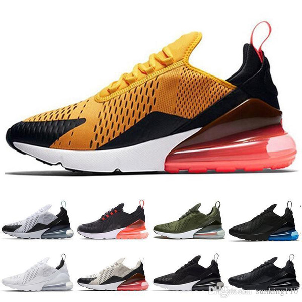 2019 Parra Hot Punch Photo Blue Mens Women Running Shoes Triple White University Red Olive Volt Habanero FlairSneakers 36-45