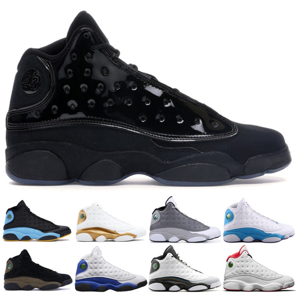 Yeni 13 13 s Kap ve Kıyafeti Chris Paul Uzakta Zeytin erkekler basketbol ayakkabı Gri Ayak Chicago Aşk Saygı Getirdi Siyah Spor Eğitmeni 7-13