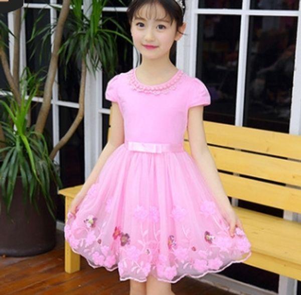 # 1 niñas vestidos de flores