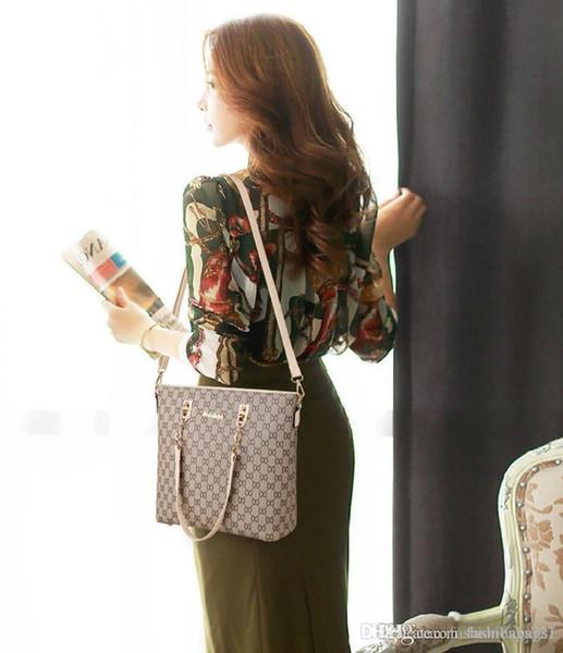 Sugao Женщины Сумка Роскошные сумки дизайнерские сумки 5 цветов 6шт Набор Totes плеча сумки сумки Креста тела сцепления Косметические держатели ключей Кошельки