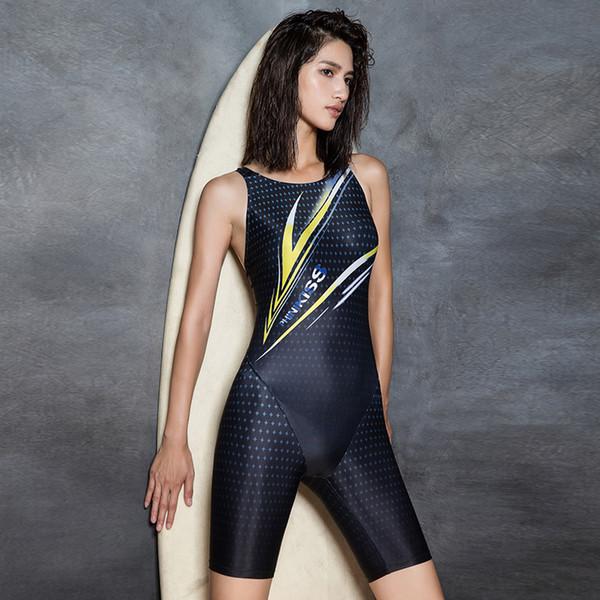Women Sports One Piece Swimwear Racerback Swimsuit Professional Swim Bathing Suit Triathlon Competition Athletic Pool Bodysuit