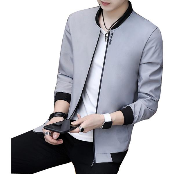 Acheter Mode Homme 2019 Veste Hommes High Quality Marque Vêtements Streetwear Hommes Printemps Automne Vestes Et Manteaux De $61.83 Du Balljoy |