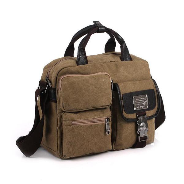 Mens Bags Shoulder Bags Messenger Bag Casual Canvas Handbags Bolso De Los Hombres