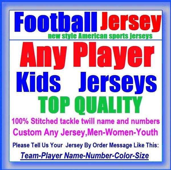 Todos Costurado Personalizado camisas de futebol americano Baltimore Denver faculdade autêntica barato basquete basquete mens juventude das mulheres DOS EUA 4xl presente