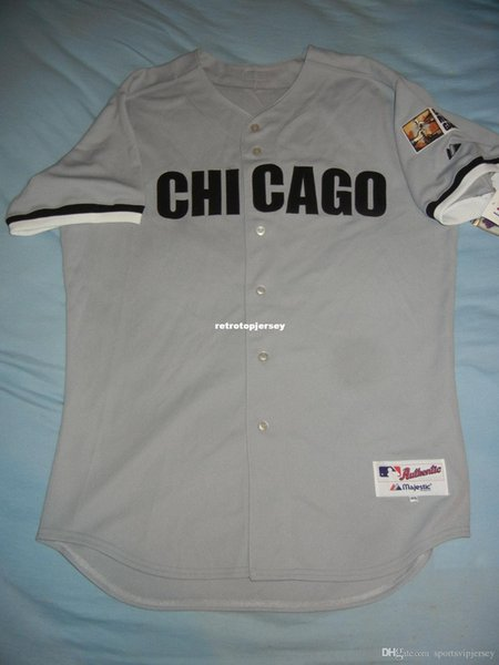 Cheap Retro Top Majestic PAUL KONERKO Chicago CIVIL RIGHTS Jersey NWT Mens Stitched Baseball jerseys