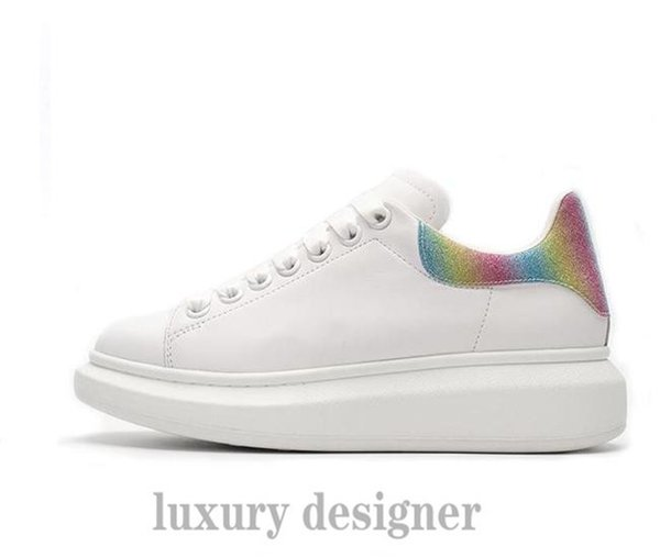 Luxury Designer Men'S And Women'S Sports Shoes Low Price Best Top Fashion Counters Latest Color Matching Platform Shoes Casual Outdoor AC011 Flat