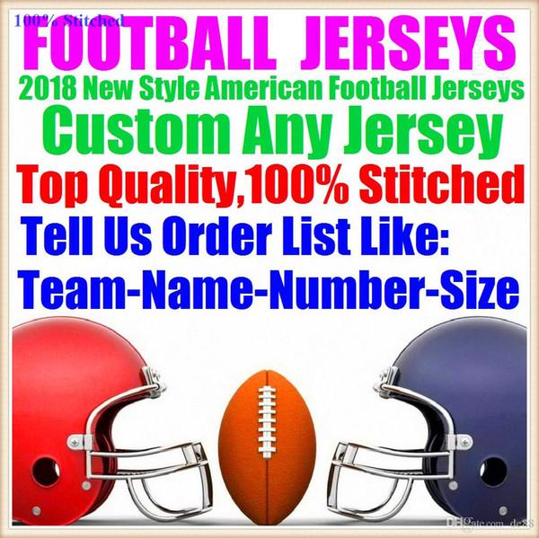 Camisetas personalizadas de fútbol americano Houston New York College Auténtico Retro Rugby Fútbol Béisbol Baloncesto Hockey Hockey Jersey 4xl 7xl 8xl verde