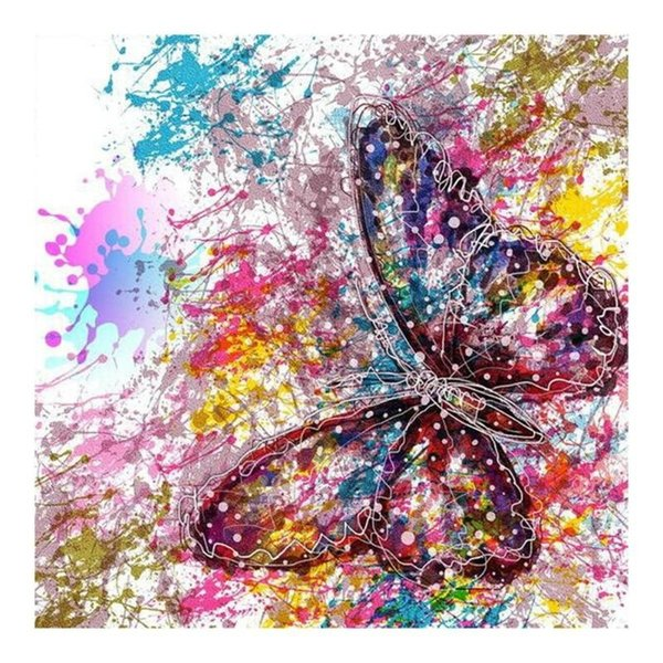 20*25cm Free shipping Home Wall Decor DIY Flower 5D Diamond Painting Full DIY Embroidery Cross Craft