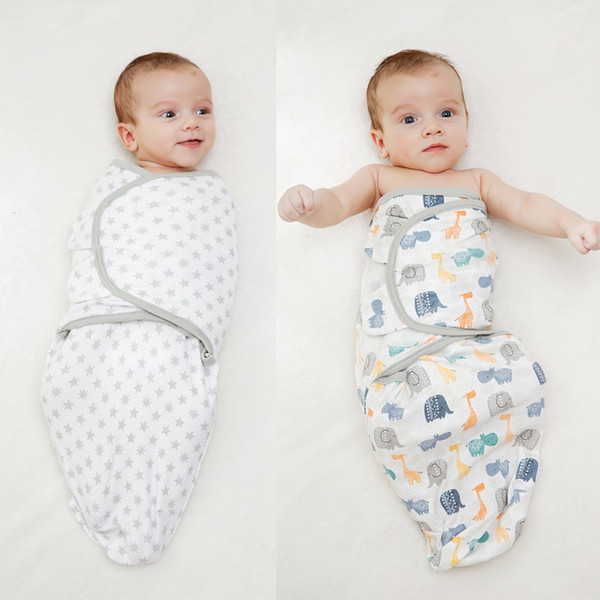 LionBear baby Swaddle envelope for newborns 100% Cotton 0-6 Months cocoon baby Sleeping Bag Feeding Blankets Sleepsack Soft