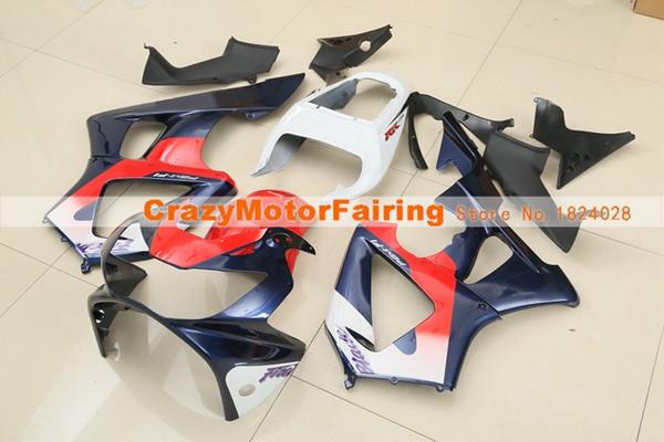 Nuevo kit de carenados para motocicletas Injection ABS para HONDA CBR 929RR 929 2000 2001 CBR929RR 00 01 CBR 900RR carenados de piezas personalizadas rojo azul