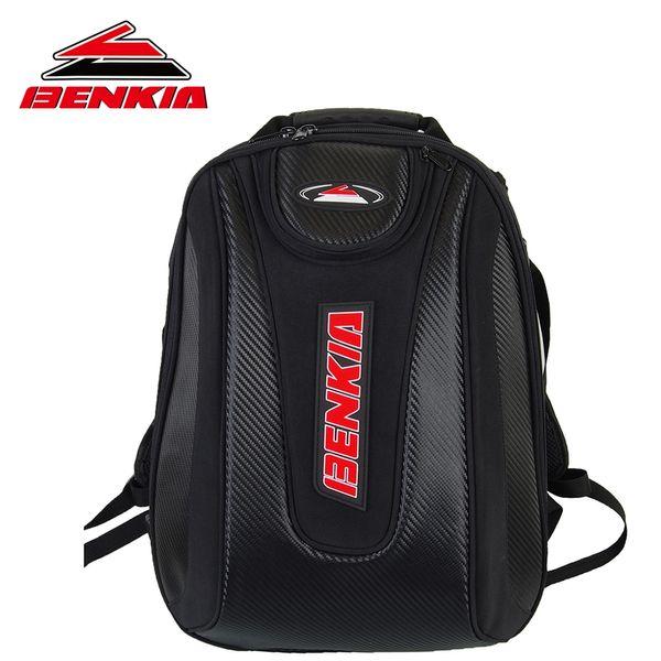 BENKIA Motorrad-Tasche wasserdicht Rucksack-Moto Helm Rucksack Gepäck Moto Tankrucksack Motorradsport HDF-BP01