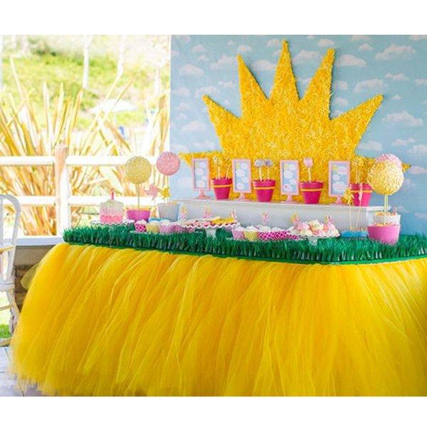 6c512e00c9876 80   100 table jupe maille table jupe décoration de fête d anniversaire de  mariage nouveau-né bébé 1er fête d anniversaire chaise haute jupe tulle tutu  ...