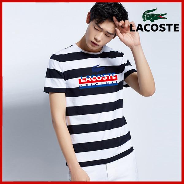 2019Designer T-shirts Pour Hommes Tops Tête De Tête Lettre Broderie Shirt Hommes Vêtements Marque À Manches Courtes Tshirt Femmes Tops M-4XL