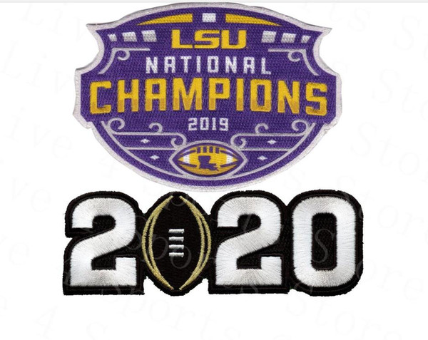 2019 LSU Champions with 2020 Patch