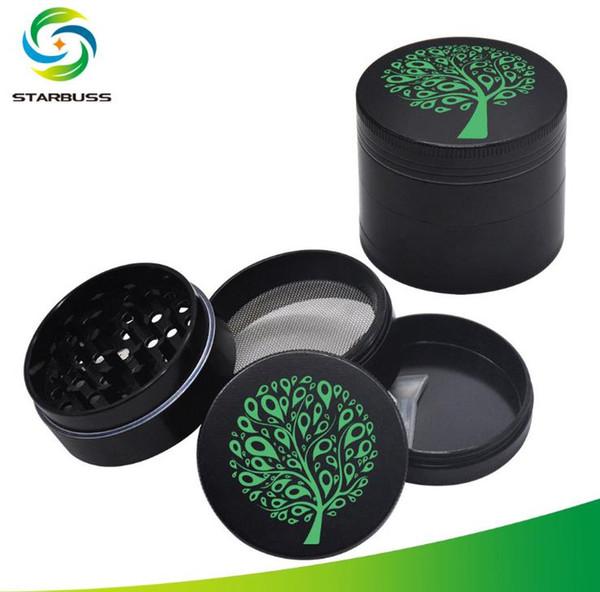 Quattro strati di piatto in lega di zinco mini-diametro 50MM per foglie di metallo