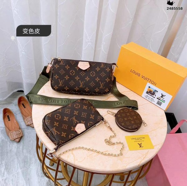 indentation sac vente chaude fleur chaud petit sac à bandoulière en chaîne sauvage loisirs paquet carré Mme Messenger Bag 2019 Nouvelle européenne et américaine