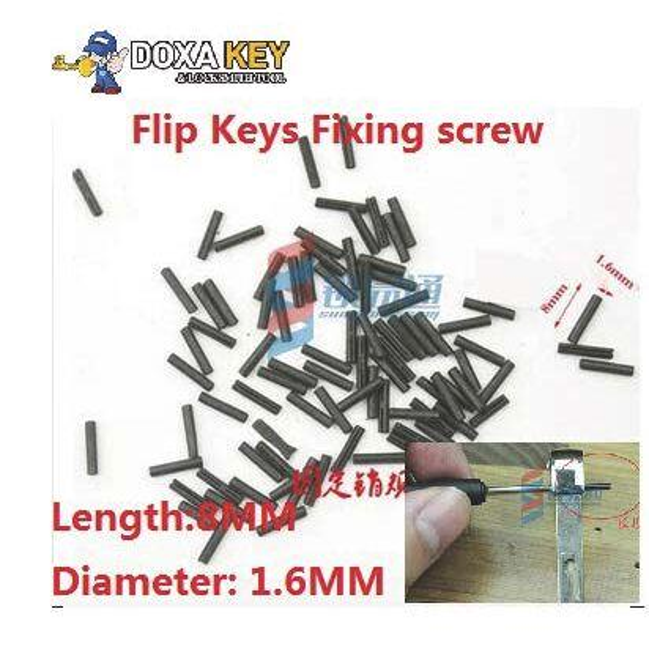 Car Flip Keys mounting bolt,Folding Remote Key Fixing screws,Car Key Retaining pins,Auto Key Blade fixing connector