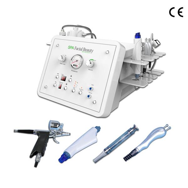 2019 Heiße Verkäufe 4 in 1 Hydra Gesichtsmaschine Hydra Microdermabrasion Hautreinigung Hautverjüngung SPA Gesichtsmaschine