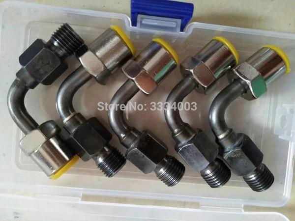 parte del connettore del tubo del banco di prova common rail di alta qualità, la pompa dell'iniettore common rail collega il giunto al tubo