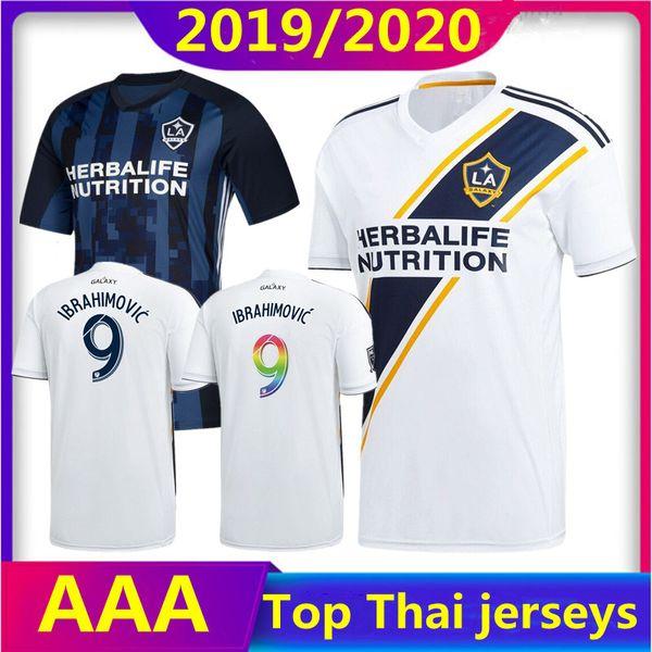 NEUE 19 20 IBRAHIMOVIC LA Galaxy Trikot Fußball Thailand Los Angeles Galaxy GIOVANI COLE ALESSANDRINI CORONA Fußball-Top-Shirts 2019 2020