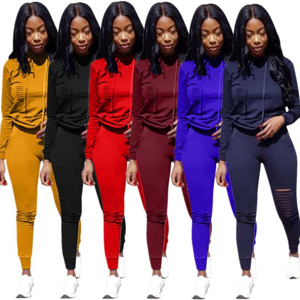 Womens 2pcs Designer Suits Clothing Big C Women Tracksuits Fashion Hoodies Pants Sports Sets