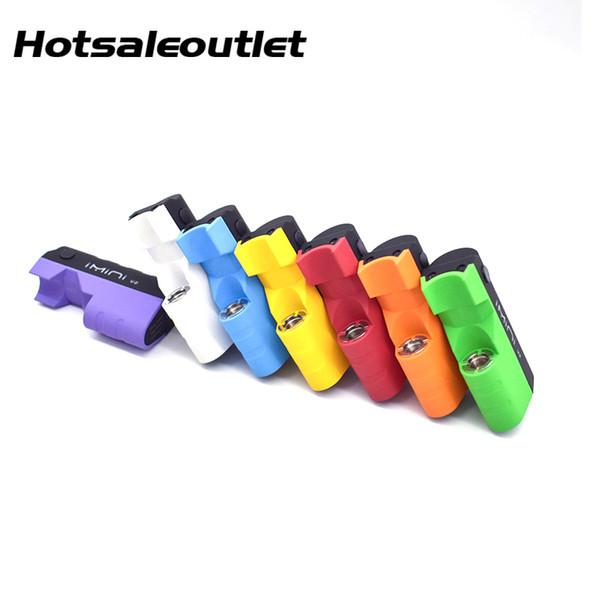 Authentic Imini V2 Mod 650mAh Battery Preheat Box Mod For I1 Thick Oil Vape Cartridge Liberty V1 Wax Vaporizer Atomizer