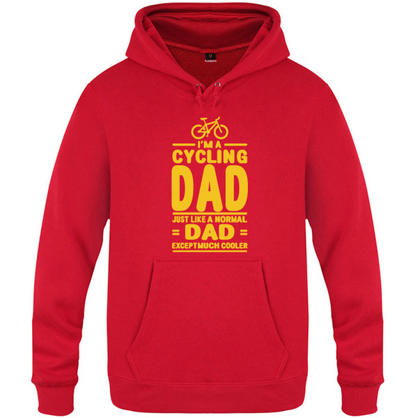 Cycling hoody Like normal dad sweatshirt Much cooler unisex tops Casual colorfast hoodies Hooded sweat shirt Print color sweater
