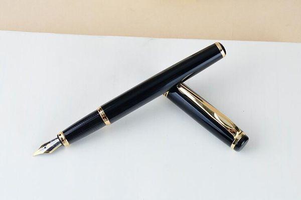 Роскошные черные смолы ролик шариковая ручка монте ручка мода канцелярские школьные канцелярские принадлежности написание бренд ручка