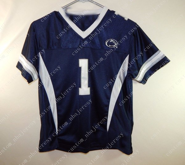 Cheap custom Penn State #1 Nittany Lions NCAA College Football Jersey Customized Any name number Stitched Jersey XS-5XL