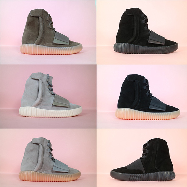 2020 new ply 750 neaker 13 yeezy 13 yeezy 13 yeezzy 13 yeezu running port hoe gray khaki brown ankle boot men women box18f9, Black