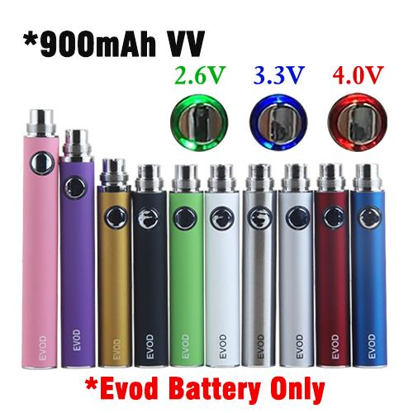 Baterías EVOD VV 900 mah