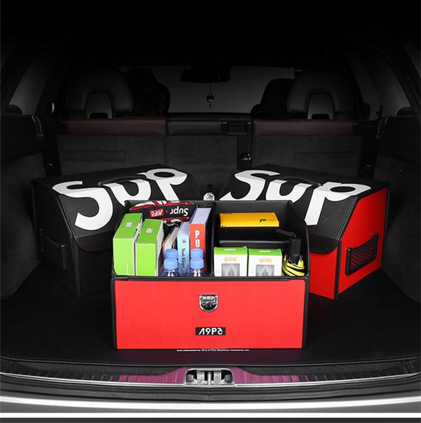 Pièces d'auto coffre Boîte de rangement Tendance Marque 36L pliable Boîte de rangement coffre de voiture de stockage Home Office