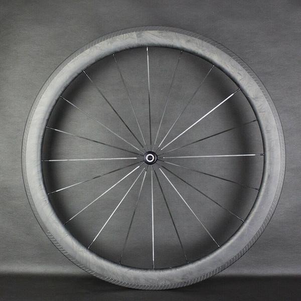 Marmo 700C Strada rotelle di bicicletta rotella della bici carbonio da 50 mm di Novatec mozzo della bici del carbonio ruote