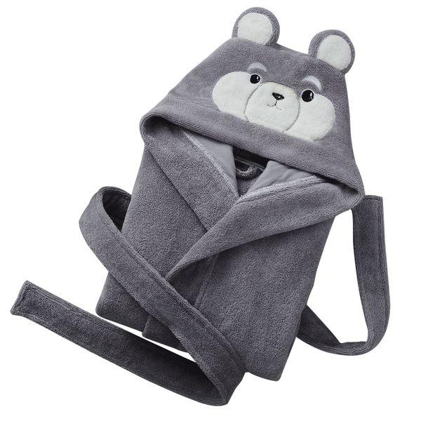 Boys bathrobes Winter thick robes children robes 6-12years children clothing Hooded Bath Robe Towel Bathing Honey Cosplay Baby
