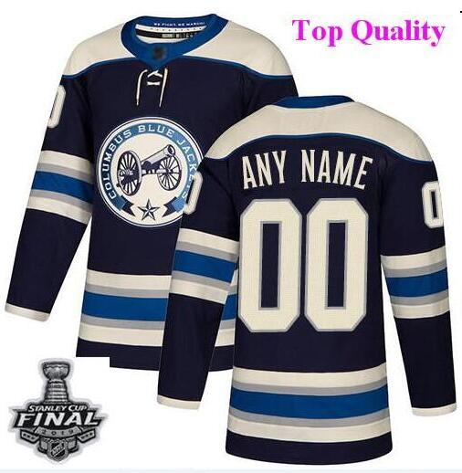 info for fe9d6 85631 Custom Columbus Blue Jackets nhl hockey jerseys Josh Anderson 2019 Stanley  Cup Final Patch Jersey 4xl 5xl 6xl wholesale cheap factory womens