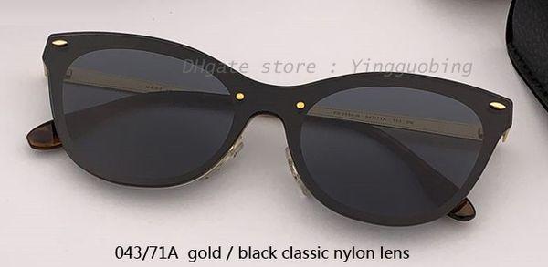 043/71A gold/black classic lens