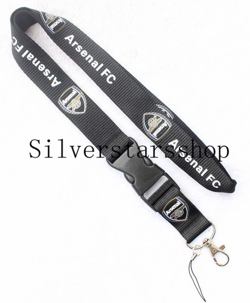 Mobile phone suspension chain of new football image Lanyard Keychain ID card holder cell phone holder Neck strap