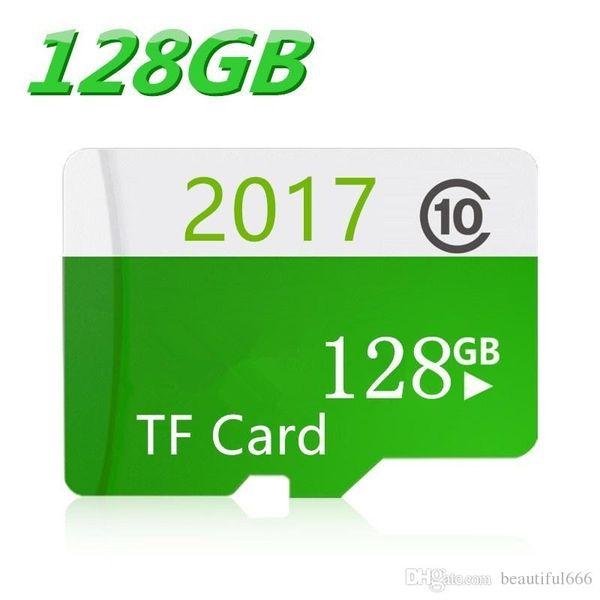 Sıcak Sıcak Satış Yüksek Hızlı TF Kartları Sınıf 10 SDHC Mikro Sd Kart + Hediyeler için 16 GB 32 GB 64 GB 128 GB Hafıza Kartı Telefon / Tablet / Kamera
