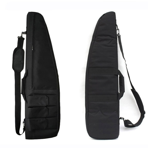 Army Military Tactical Gun Bag Rifle Gun Case Carrying Shoulder Pouch For Airsoft Paintball Hunting Protection Bag With Foam Pad #805985