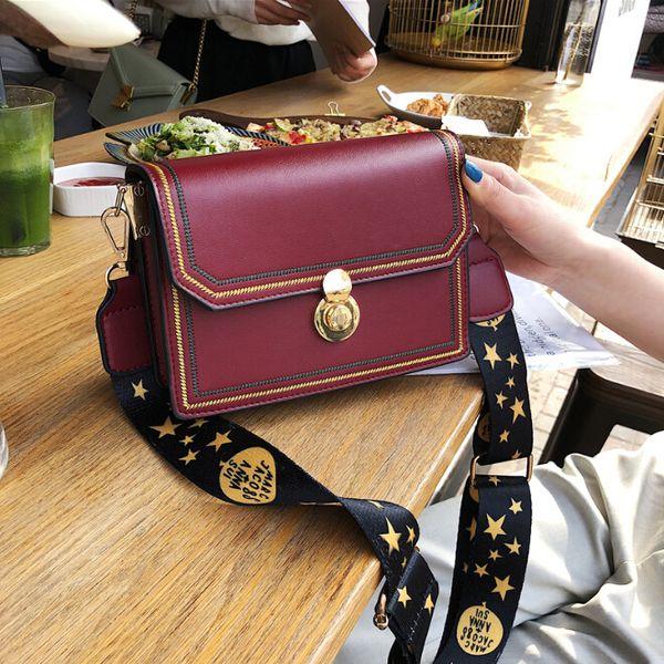 wholesales  2019 new korean version of the wild messenger bag outdoor travel chic broadband shoulder bag