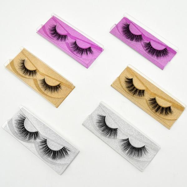 Visofree Mink Eyelashes 3D Mink Lashes Natural False Eyelashes cruelty free Mink Eyelashes Lightweight & Amazing Lashes 11 style D19011701