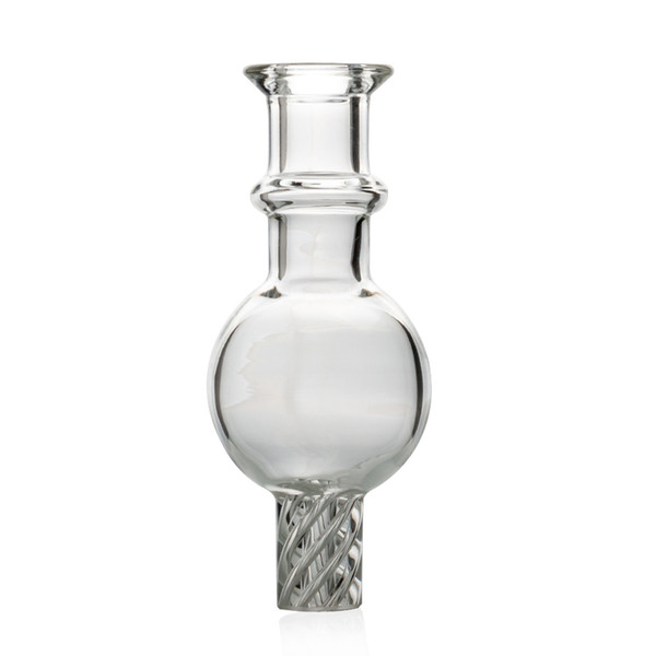 Wholesale Glass spinning carb cap Dome for Quartz Thermal Banger Nails Dabber Glass Bongs Dab Oil Rigs